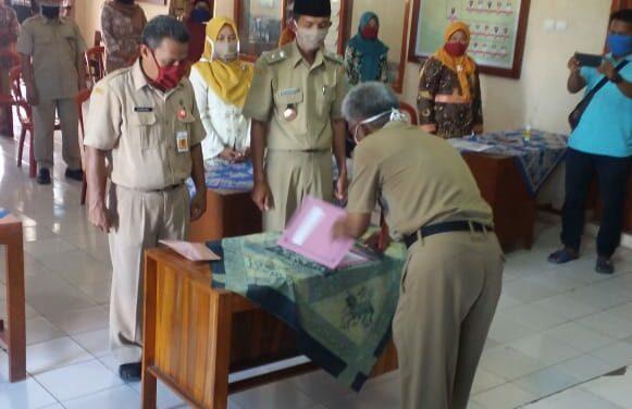 Serahterima Jabatan Kepala Desa Maribaya Periode 2020-2026